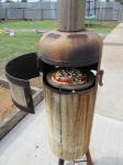 Tiki Fire/ Pizza Oven (Pizza!)