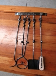 Fire Tool Set and Hooks