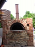 Pizza Oven Arch and Flue