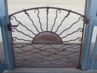Copper sun gate