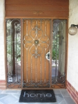 Symetrical security door