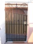 Scroll single gate