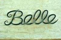 Belle sign